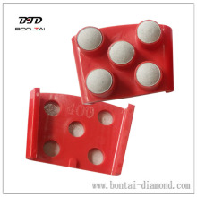Finger Resin Grinding Plate for Granite, Marble, Concrete Floor