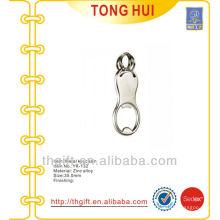 Bottle opener silver keychains blank pendants metal