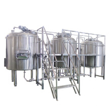 SUS 304 1000 liter micro brewery beer fermenter beer brewing brewery with ISO TUV CE Certificates for sale
