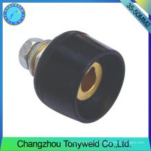 Consommables de torche tig pièces de soudage prise de courant 35-50mm2