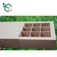 Опытное производство КФС класс бумаги брайна Kraft дешевые коробка для шоколада