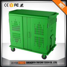 charging cabinet cart station for laptop pad