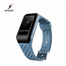 Color Display Bluetooth Heart Rate Wrist Watch Blood Pressure Monitor