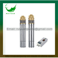 """4"""" Single Phase Brass/Stainless Steel Outlet NSK Bearing S. S Peripheral Pump with Digital Auto-Control Box (4SK/4NK)"""