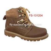 bottes d'hiver de marque, bottes de marque pour hommes, bottes en cuir de marque