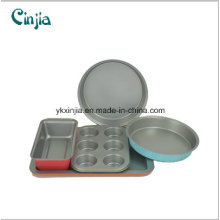 2016 New Design Carbon Steel Nonstick Bakeware Set Cookware