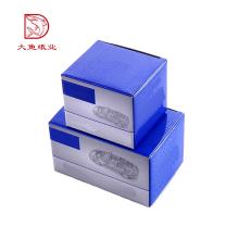 Différents types nouveau prix à bas prix ondulé emballage de boîte de carton