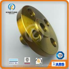 Bride forgée en acier au carbone de qualité supérieure ASME B16.5 avec TUV (KT0253)