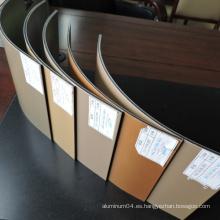 2/3/4/5/6 / 8mm Aluminio Material del panel compuesto ACP Acm