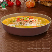 2015 Brown Ceramic kitchenware Soup Bowl