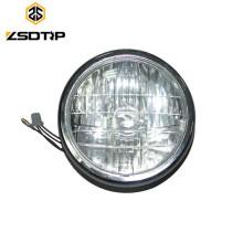 High Quality indicator lights BOXER BM100 Head light with One bulb Crystal Glass headlight