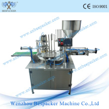 Auto Rotary Type Cup Beverage Filling Sealing Machine