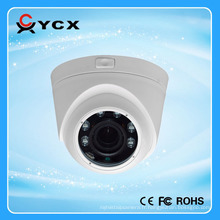 Onvif Free P2P Mobile Viewing Vandalproof Dome intérieur HD 3MP 4MP IP Camera POE Alarme audio CCTV WDR Mini IR IP Camera