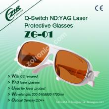 Zg01 ND YAG Laser Lunettes de sécurité Laser Machine