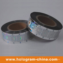 Silbernes Laser-Hologramm-Heißfolienprägen