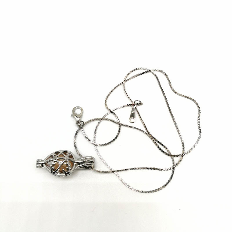 Cage Heart Pendant Necklace