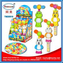 Plastic Electric Mini Fan Toy Candy