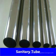 Tubo sanitario soldado de acero inoxidable 304L / 304 para la industria alimentaria