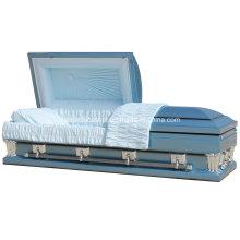 Frank Blue 28 Inches Oversize Casket