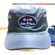 Дешевые высокого качества плоская вершина Hat вышитые бейсбольные кепки спорта