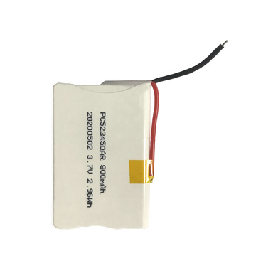 523450 3.7V 800mAh batterie Li-ion pour machine POS