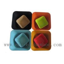 (BC-B1015) Подарок промотирования Естественная чаша тарелки Bamboo волокна