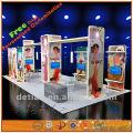 leichte tragbare Aluminium & Stoff Ausstellung Display Stand benutzerdefinierte, Hilfe Design frei und Export ins Ausland