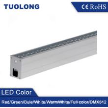 6063 Extruded Aluminum IP67 Customized Length Linear LED Inground Light 36W LED Uplighting