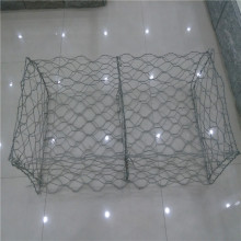 factory PVC coated Galvanized steel wire mesh gabion basket