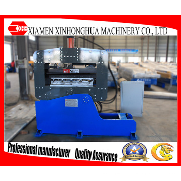 Máquina curvadora de prensado automático de paneles de revestimiento y techos corrugados de metal