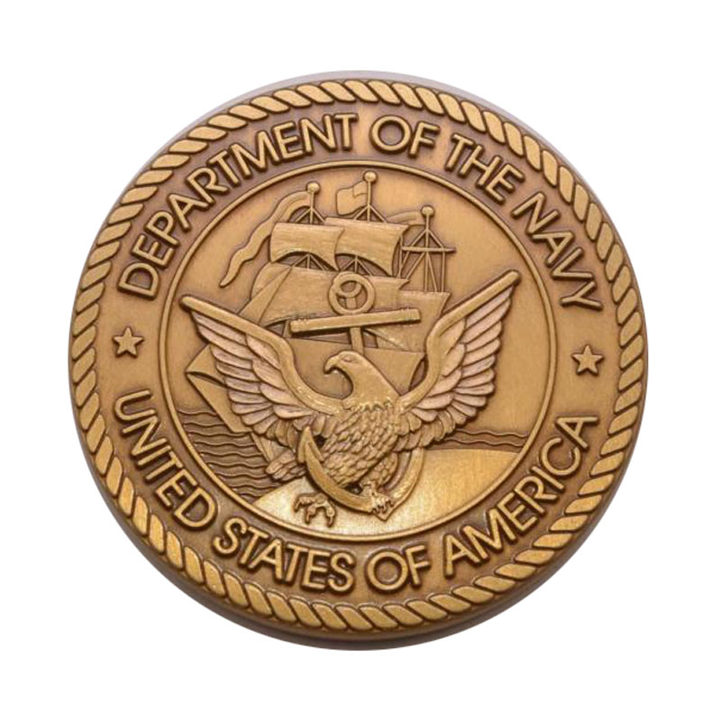 Challenge Coin Defense Department Dod Us Navy Military Insignias