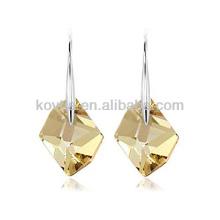 Boucles d'oreilles en forme de 925 boucles d'oreille en gros boucles d'oreilles en pierre gemme en pierres naturelles