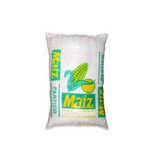 Cheap Wholesale Custom Reusable 25kg 50kg Clear Transparent PP Woven Rice Flour Wheat Powder Bags