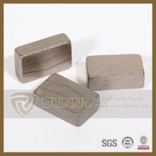 Segmento de diamante de piedra para herramientas de corte