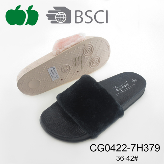 New Design Cheap Ladies Fashion Comfortable Slippers