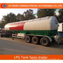 56000liters LPG Tank Semi-Trailer Asme Standard 56000L LPG Tanker Semi-Trailer