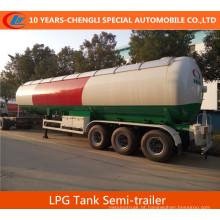 56000liters Semirremolque Cisterna de Gás Asme Standard 56000L Semirremolque Cisterna de GPL