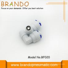 Cotovelo de 90 graus forma Pom verificar válvulas adaptador
