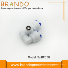 90 Degree Elbow Shape Pom Check Valves Adapter