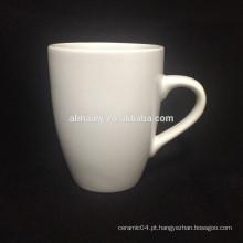 canecas de grés branco para chá