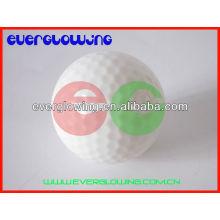 balles de golf éclairées par LED multicolores HOT sell 2016