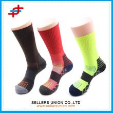 Functional Men Sport Compression Socks/ Elite Cushion Crew Socks Functional Running socks