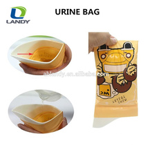 HOT NEW DESIGN COLORFUL CHINA PLASTIC URINE BAG