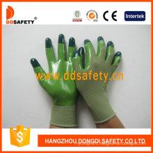 Green Nylon with Green Nitrile Glove Dnn512