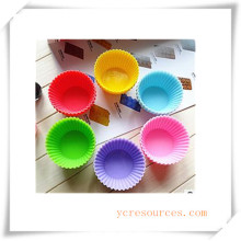 16 Cavity Oval Silicone Mold for Soap, Cake, Cupcake, Brownieand More (HA36024)