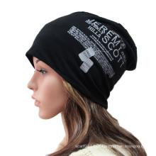 Moda Impresso Algodão Malha Inverno Quente Ski Sports Hat (YKY3126)