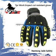 3/4 Nitrile Smooth Finish with Palm Nitrile Sandy Finish Coated TPR Work Glove