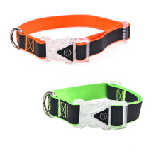 Colorful Night Luxury Personalized Pet Dog Collar
