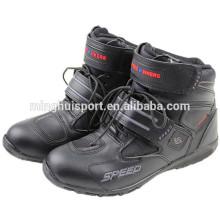 Botas de couro Super fibra de turismo Motocicleta Botas de motociclismo botas de corrida Super botas de couro de fibra de turismo Motocicleta Botas de moto botas de corrida de equitação