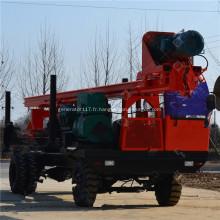 Machine d'entraînement de tas de tarière à roue de 800 cm